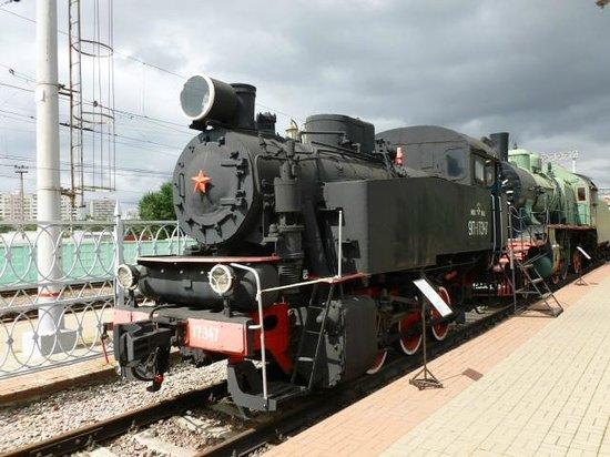 The Rizhskaya Railway Museum: Tank Engine