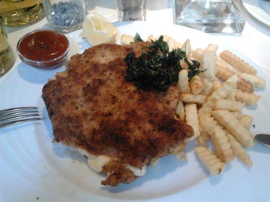 Restaurant Deutsche Eiche: Un piatto unico del Deutsche Eiche