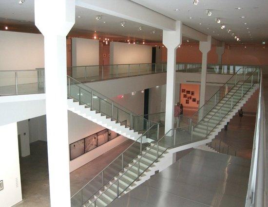 Main Hall And Staircases Of Berlinische Galerie Bild Von