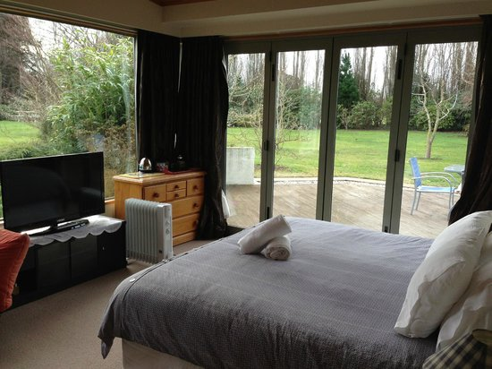 Shamrock Garden B & B : Pondside room
