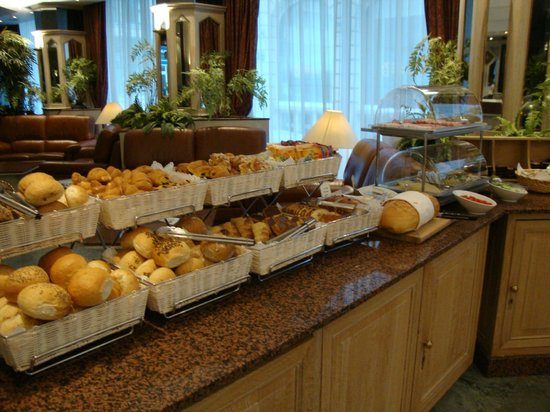 BEST WESTERN Hotel Royal Centre : Buffet colazione