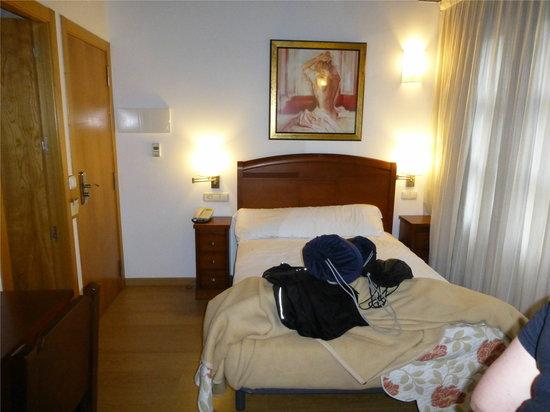 Hotel Mirador de Barcia: Dormitorio