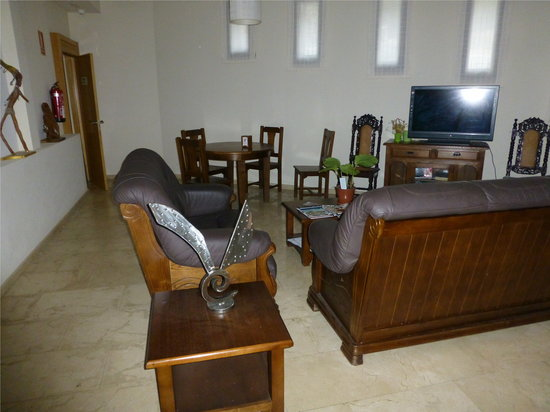 Hotel Mirador de Barcia: Salon