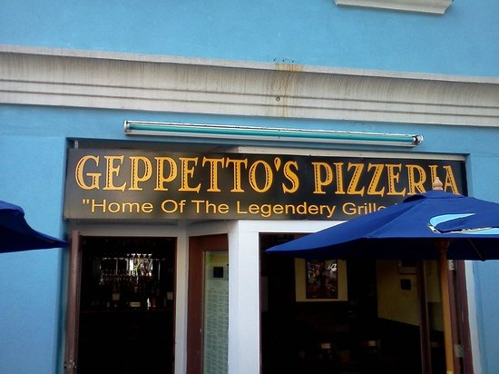 Geppetto's Grilled Pizzeria: Geppetto's Patio