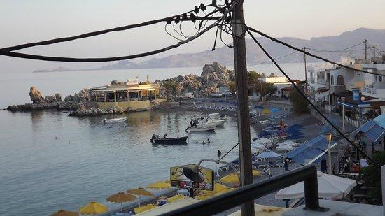 Porto Haraki Studios: Early evening