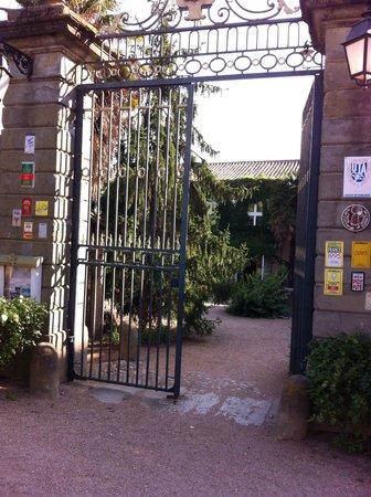 Chateau de Cavanac : Entrada al restuarante