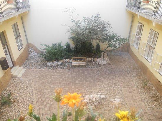 Central Hotel 21: giardino by day