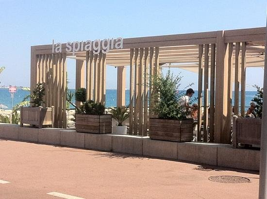 Nizzasalat photo de la spiaggia plage cagnes sur mer for Garage de la plage cagnes sur mer