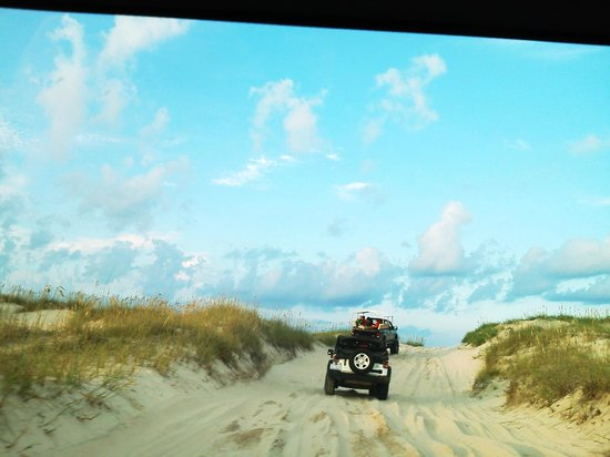 Beach Jeeps Of Corolla Beautiful View During The Jeep Ride