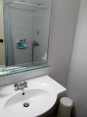 Apollon Hotel Apartments: Bagno