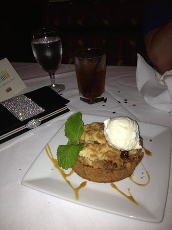 Ruth's Chris Steak House: Apple tart was the best ever!!!