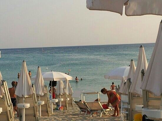 Marina di Pulsano, Itálie: la spiaggia