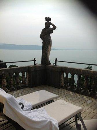Hotel Villa del Sogno : terrazza dalla junior suite