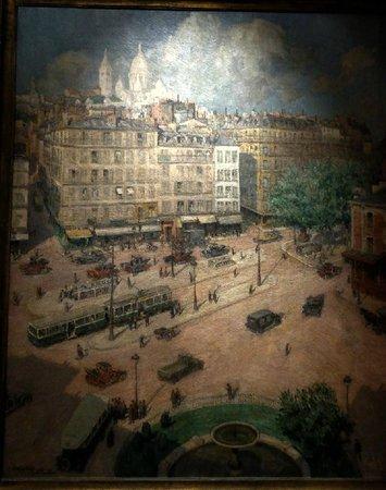 Musée Carnavalet : La Place Pigalle par Lucien Lièvre, 1932