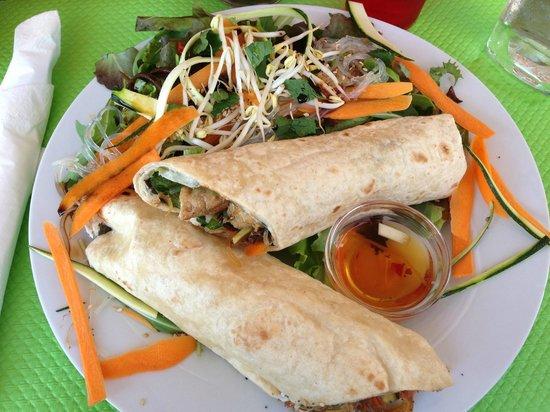 Crocantine : Wrap thaï