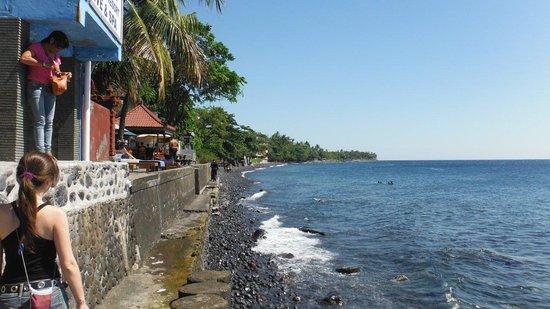 Paradise Palm Beach Bungalows : west beach