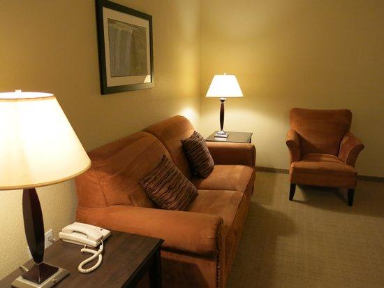 Country Inn & Suites by Radisson, Niagara Falls, ON: Sofa bed / living room