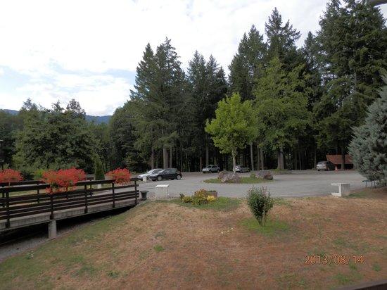 Hotel de la Vallee Noble: vue depuis le balcon