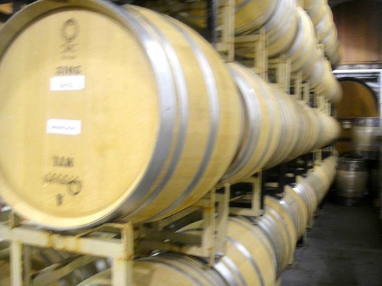 V. Sattui Winery: Barrels