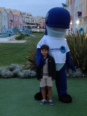 Hotel Cristal Praia Resort & Spa: mi hijo con la mascota