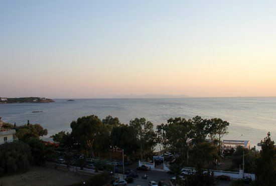 Divani Apollon Palace & Thalasso: View from room
