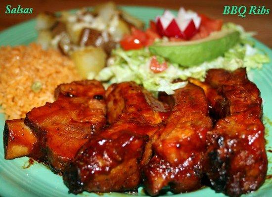 The Salsas Restaurant: Ribs