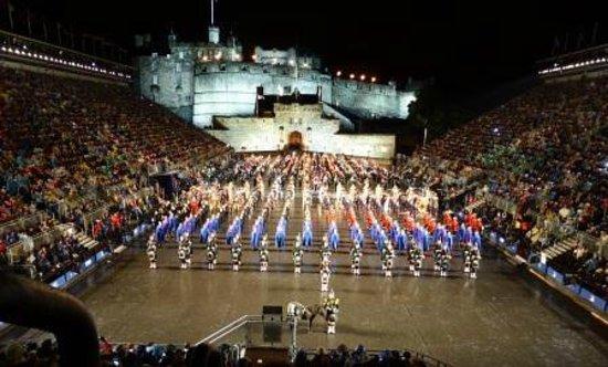 The Royal Edinburgh Military Tattoo : The final display