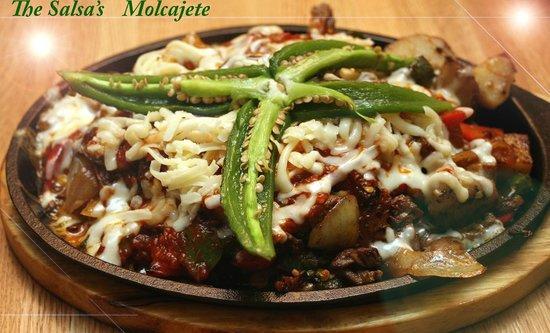 The Salsas Restaurant: Molcajete
