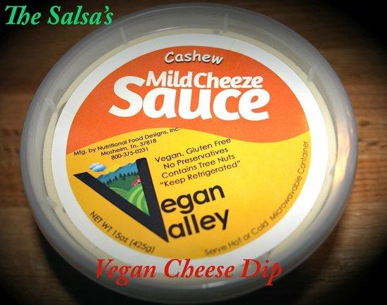 The Salsas Restaurant: The Salsas Vegan Cheese