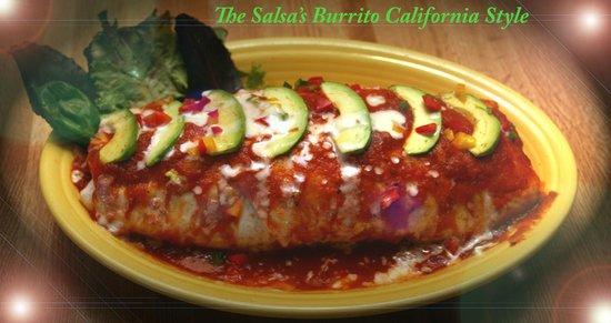 The Salsas Restaurant: Burrito for 2
