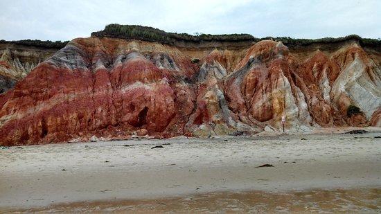 Gay Head Light  (Aquinnah Light): colorful cliffs