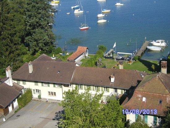 Hotel Murtenhof & Krone : le lac