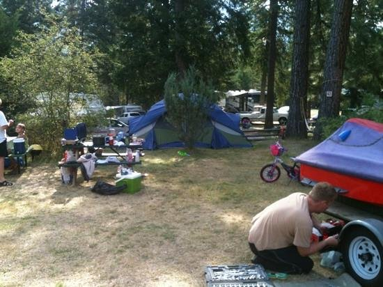 Christina Pines Campground: both sites combined