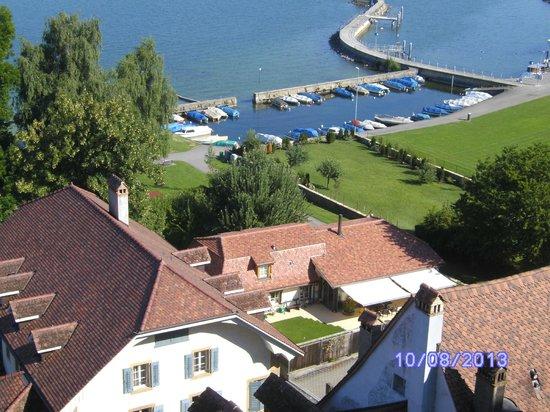 Hotel Murtenhof & Krone : le petit port