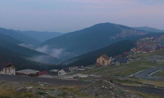 Ranca - a view from Transalpina Road, Romania