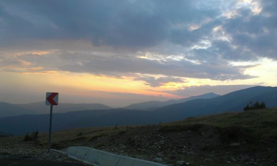 a view from Transalpina Road, Romania