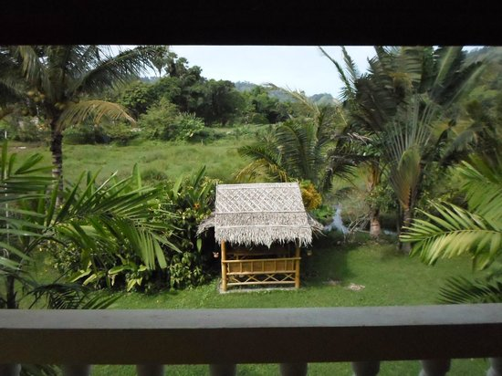 Chez Charly Bungalow: afternoon view