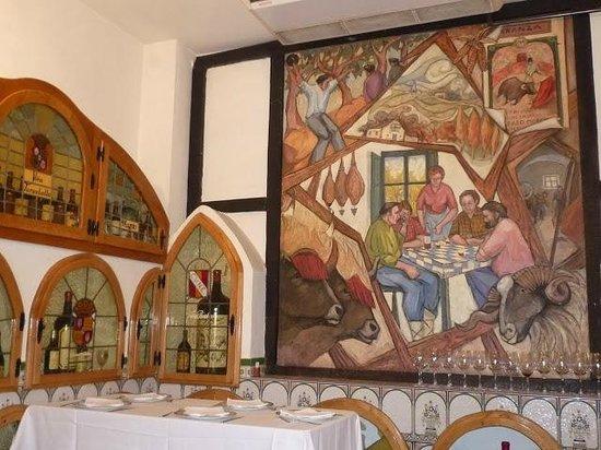 Museo del Vino: De prachtige ambiance van dit restaurant