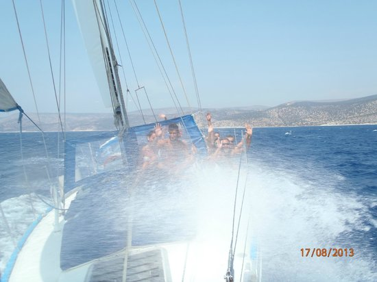Naxos by, Hellas: sailing