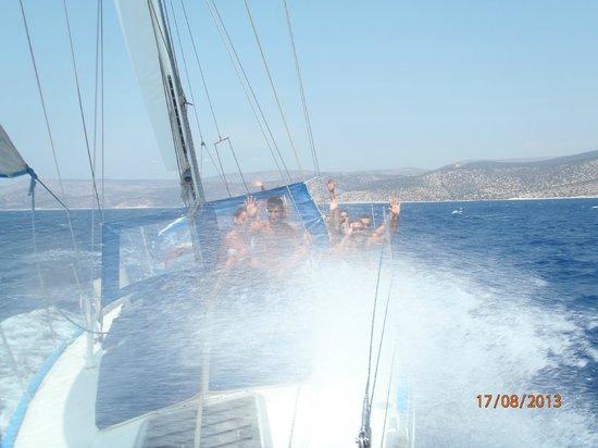 Наксос, Греция: sailing
