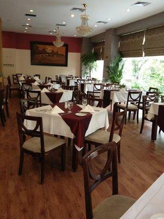 Prestige Hotel: Breakfast room (floor 1)