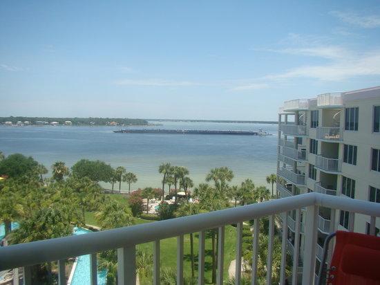 Destin West Beach and Bay Resort: Bayside