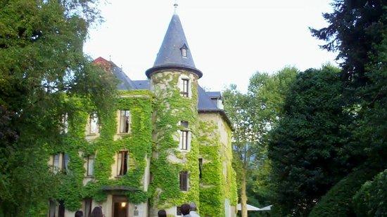 Chateau de la Tour du Puits : Château vu de l'entrée
