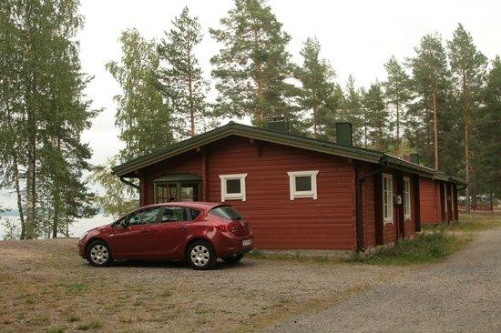 Ruokkeen Lomakyla : Vista de nuestro bungalow