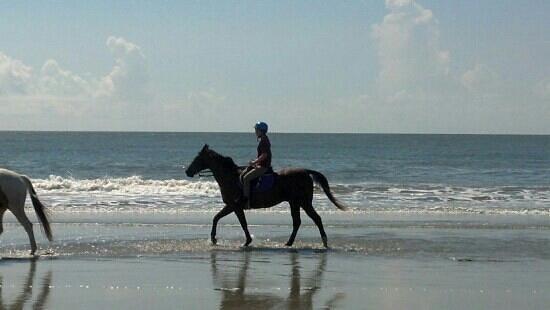 Seabrook Island, Karolina Południowa: Advanced Beach Ride