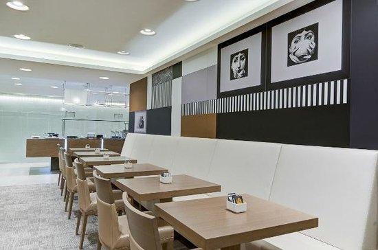 Hotel Valentina: Breakfast Area