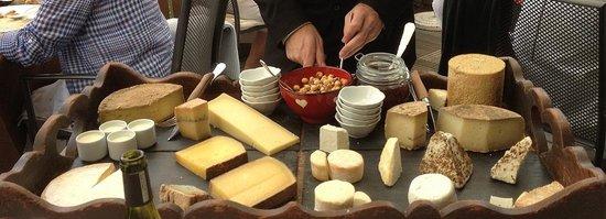 Auberge du Bois Prin: les fromages du pays à l'honneur