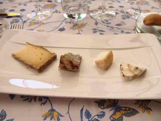 Auberge du Bois Prin: l'assiette de fromage
