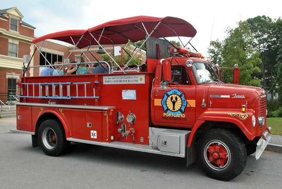 Portland Fire Engine Co.: Our 50 min multimedia tour is a great way to see Portland in under an hour.