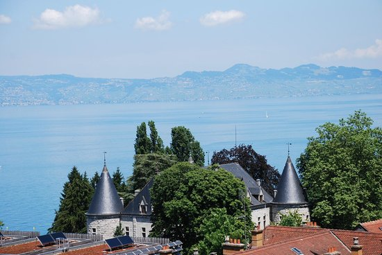 Hotel Evian Express : View from the room